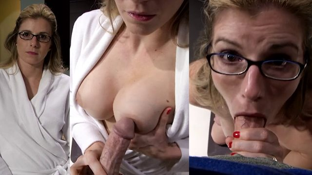Cory Chase Threesome Creampie